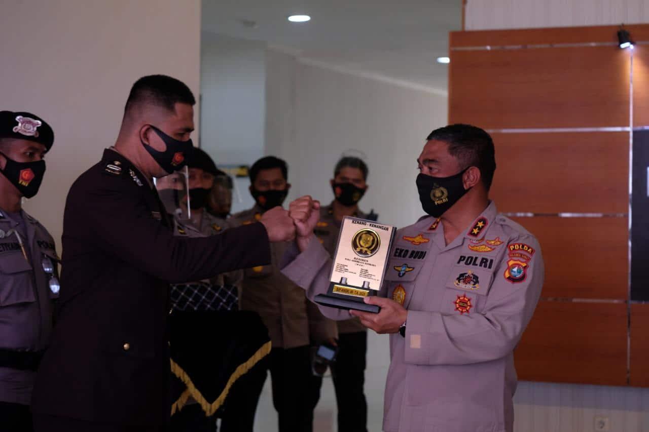 Kapolda Sulbar Resmi Lantik 10 Orang Lulusan Setukpa Angkatan 49