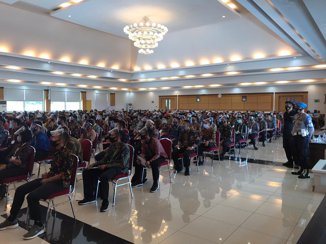 Sebanyak 473 Orang Peserta Penerimaan Colon Bintara Polri Polda Sulbar Dinyatakan Memenuhi Syarat